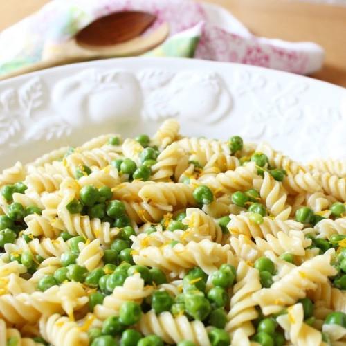 Meyer Lemon, Peas, and Parmesan Pasta  Recipe on Food52