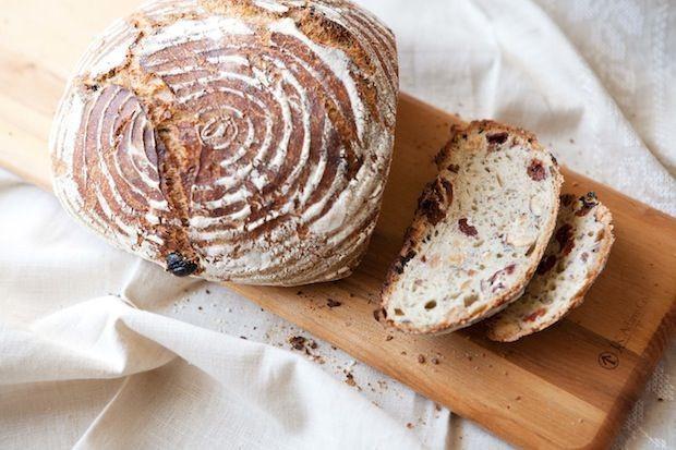 Cherry-Hazelnut (Yeast) Bread