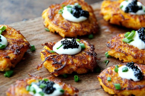 Sweet Potato Recipes - Elegant Hors D'Oeuvres