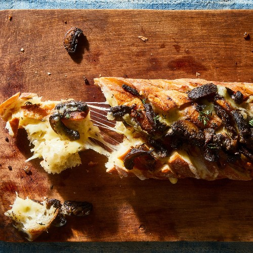 The Lasting Power of My Mother's Mushroom Cheese Bread
