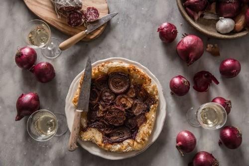 Red Onion Tarte Tatin Recipe on Food52