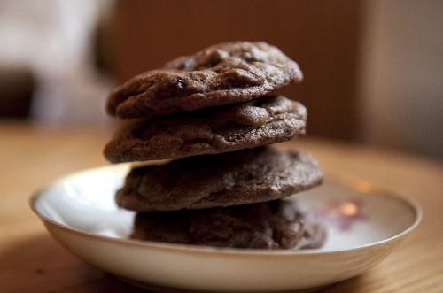 10 Chocolate Cookies