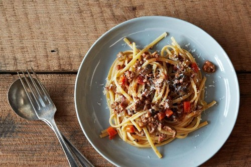 """How a """"Not Meat"""" Italian Red Sauce Found its Way into a Lapsed Vegetarian'sKitchen"""
