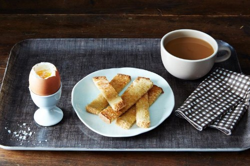Six-Minute Eggs with Miso Butter Toast Recipe on Food52