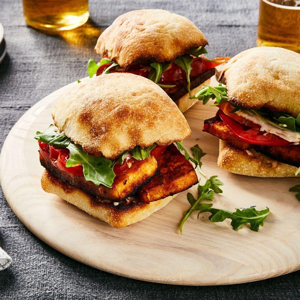 Marinated Tofu Steak Sandwiches Recipe on Food52