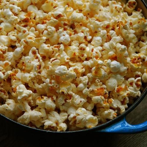 Popcorn Popped in Bacon Fat Recipe on Food52