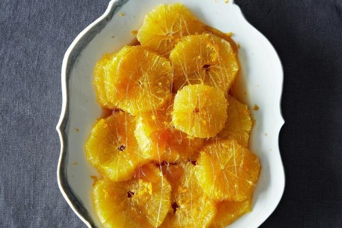 Chilled Oranges in Rum-Caramel Syrup Recipe on Food52
