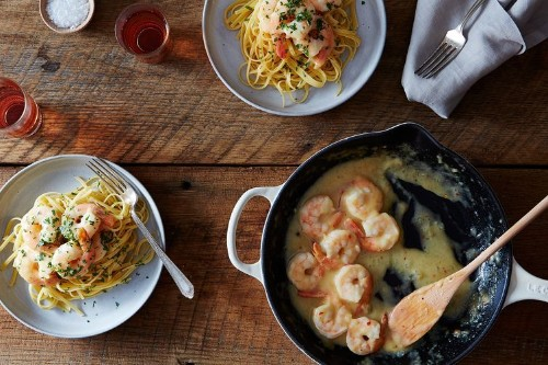 Spiced Shrimp in Lemon-GingerSauce