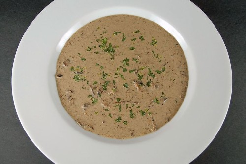 Rustic Mushroom Soup Recipe on Food52