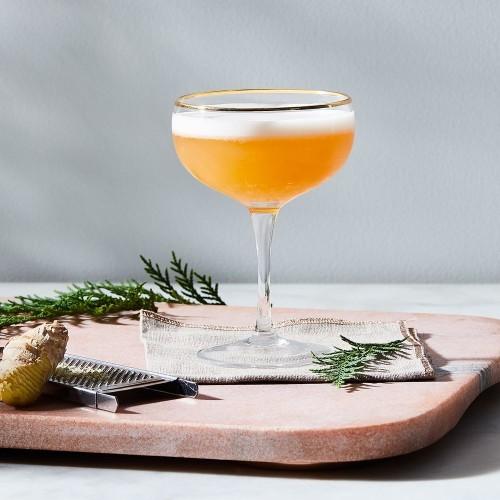 Rosé Ginger Vodka Sour - Vodka Cocktail Recipe