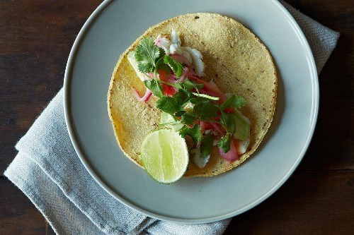 How to Make Easy Roasted Fish Tacos