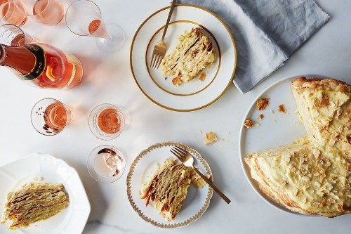 This Cake is the Perfect Excuse to Stay in on NewYear's