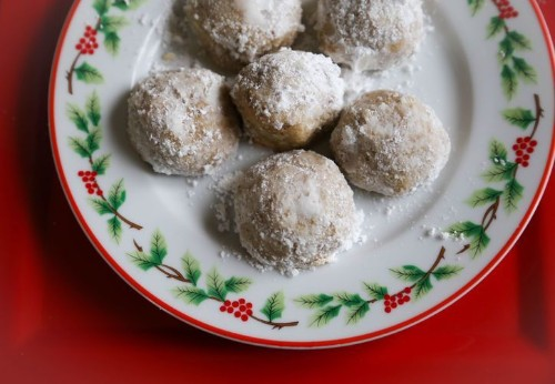 Mexican Wedding Cookies - Gluten Free Christmas Recipes