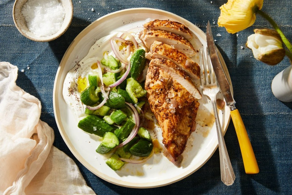 A 2-Ingredient Marinade for Never-Dry Chicken Breasts