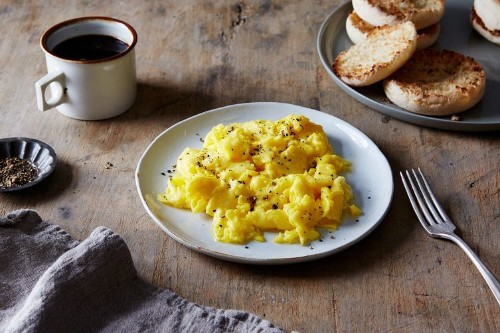 Lady & Pups' Magic 15-Second Creamy Scrambled Eggs Recipe on Food52