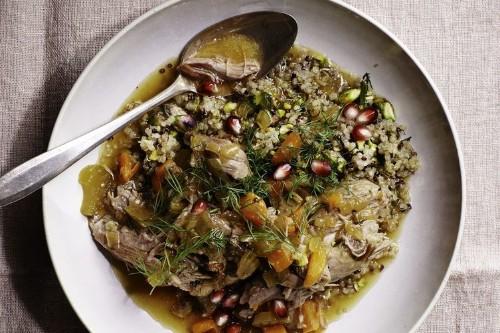Martha Stewart's Slow-Cooker Persian LambStew