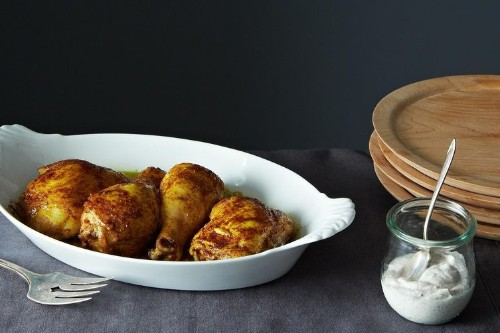Spiced Roast Chicken with Za'atar Yogurt Recipe on Food52