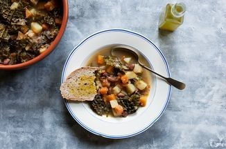 Tuscan Bean Soup With Pumpkin and Kale (Zuppa Frantoiana) Recipe on Food52