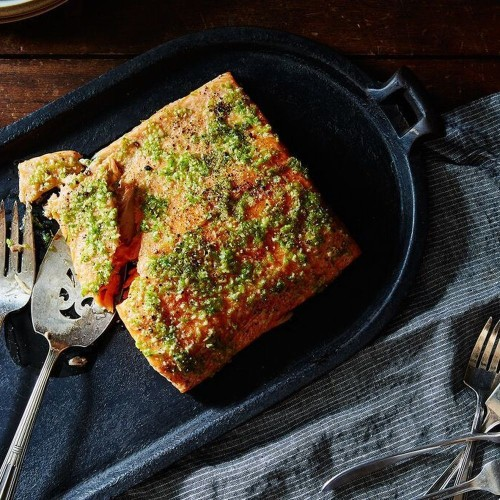 Spicy Garlic Lime Oven-Baked Salmon Recipe on Food52
