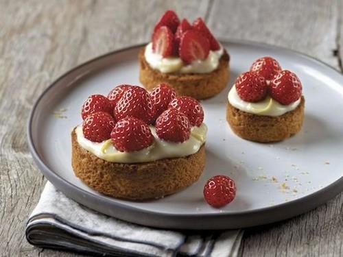 Clotilde Dusoulier's Strawberry Tartlets with Breton Butter Crust