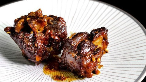 Sichuan Peppercorn Red-Braised Oxtail