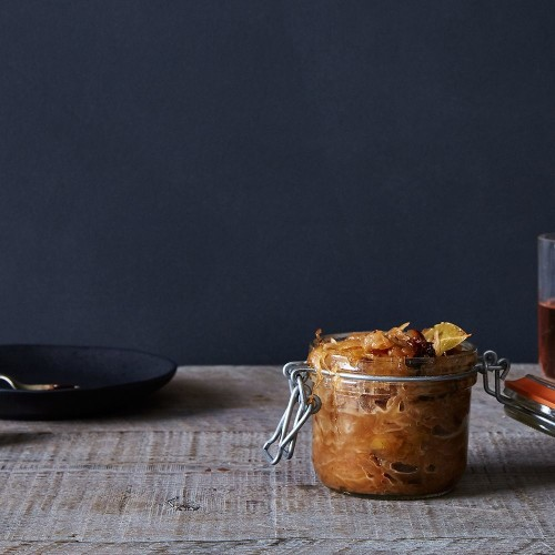 Caramelized Sauerkraut With Prunes, Herbs & Honey Recipe on Food52