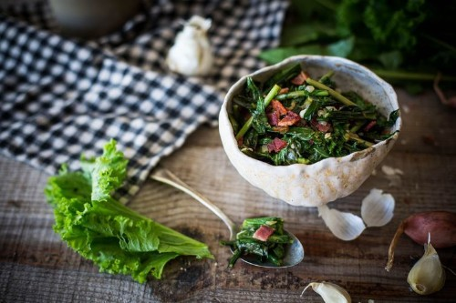 Sweet and Spicy BitterGreens