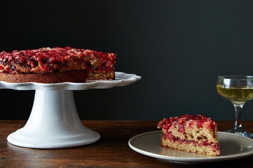 How to Make Cranberry Ginger Upside Down Cake