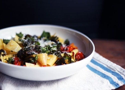 Seriously, Put (Kale) Chips On YourPasta