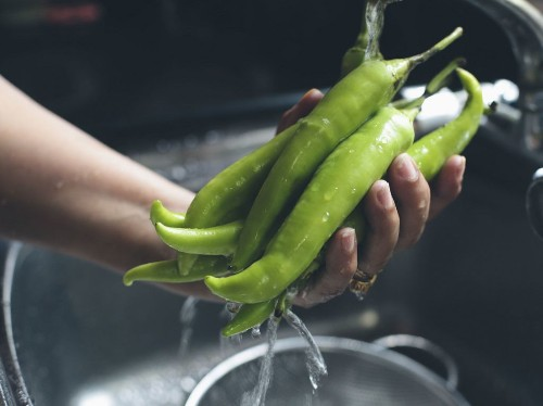 How to Make Mulaku Bajji (Jalapeño Fritters with MintChutney)