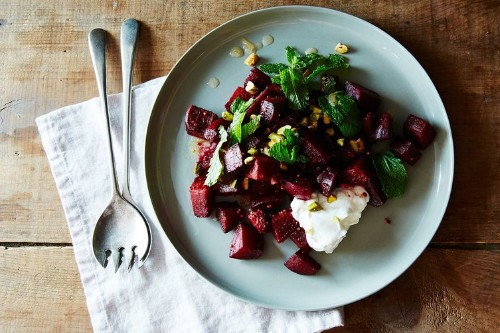 Spiced Beet Salad with Citrus-Ginger Dressing Recipe on Food52