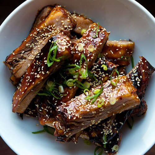 Chinese Style Honey Hoisin Sticky Ribs Recipe on Food52