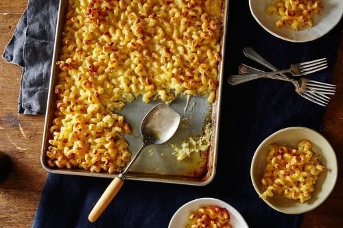 Baking Sheet Macaroni andCheese
