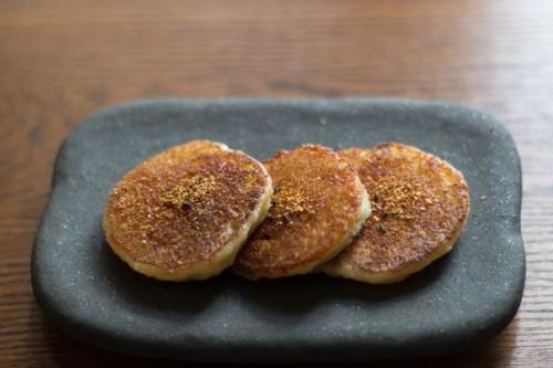 Potato Mochi with Shichimi TogarashiPepper