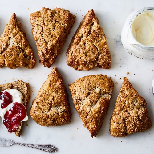 Best Scone Recipe - King Arthur Ginger Scones with Spices by Martin Philip Breaking Bread