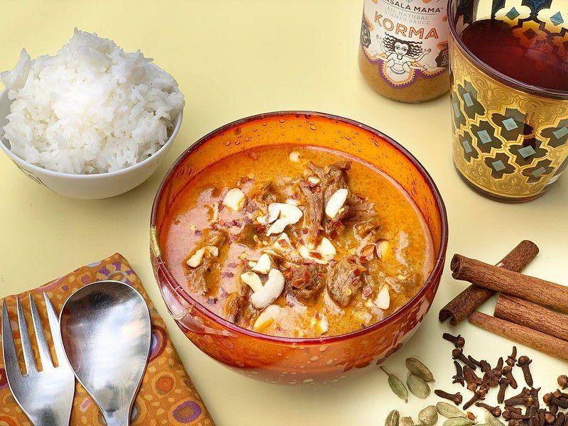 Instant Pot Shahi Lamb Korma