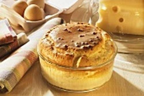 Mushroom and CheeseSoufflé