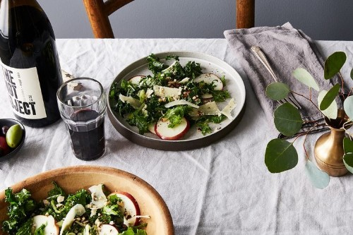 Kale Salad with Apples andHazelnuts