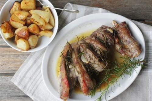 Abbacchio al Forno (Roast Lamb withPotatoes)