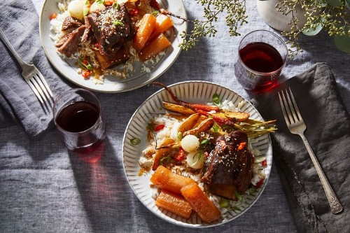 Galbi Jjim Recipe: Easy Korean Braised Short Ribs with Vegetables