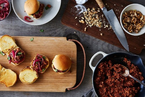 Spicy, Just-Saucy-Enough Sloppy Joes, Minus theMeat
