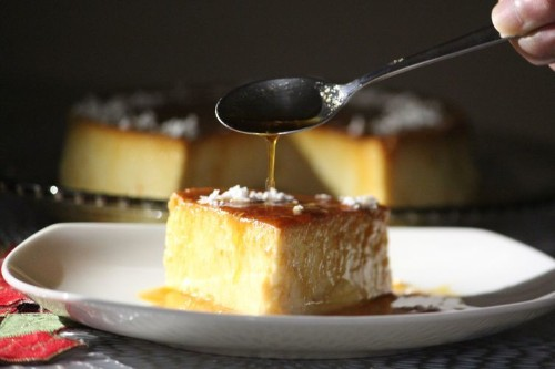 Instant Pot Coconut Flan