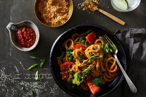 Indian PeanuttyNoodles