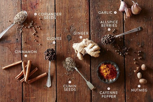 9 spices in caribbean inspired recipes