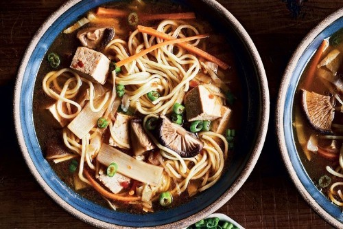Slow-Cooker Shiitake-Noodle Hot & Sour Soup Recipe on Food52