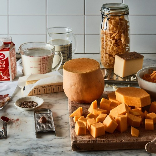 Butternut Squash + Bacon = Fall's Favorite Riff on Macaroni & Cheese