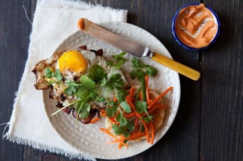 Bánh Mì-Inspired Breakfast Sandwich Recipe on Food52