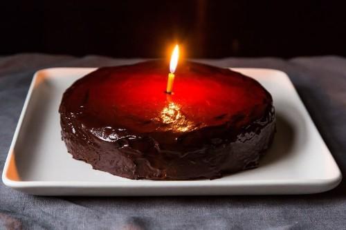 My Chocolate-Orange BirthdayCake