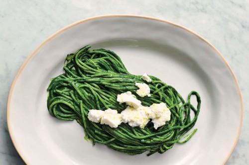 Jamie Oliver's Super Green Spaghetti Recipe on Food52