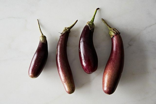 Barbara Kafka's Marinated Eggplant